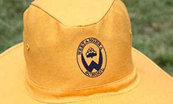 school uniform hat