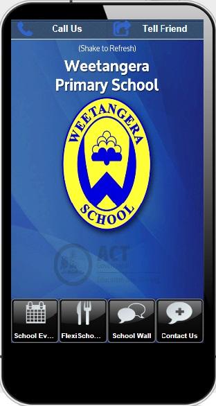 Weetangera Primary App